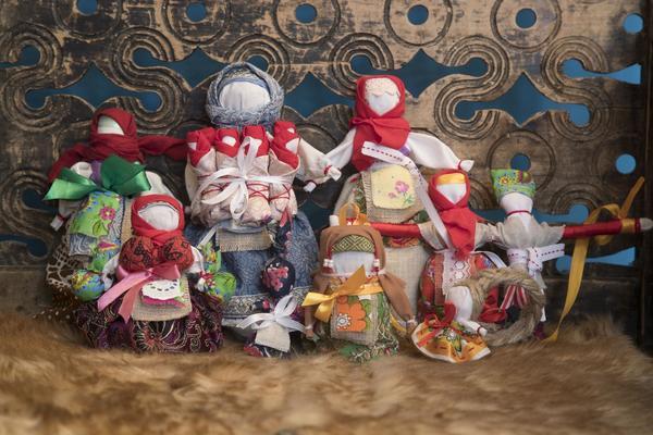 Изготовление тряпичной куклы