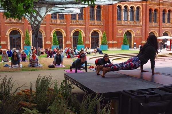 V&A Yoga and Coffee Morning: June 2017