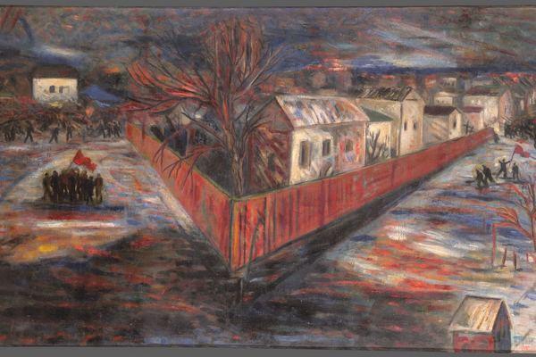 Головой о стену. Живопись и графика Б. А. Голополосова 1920–1930-х годов