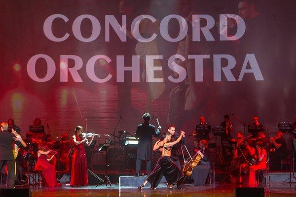 """Властелин тьмы """"Concord Orchestra"""". Шоу Симфонические Рок-хиты."""