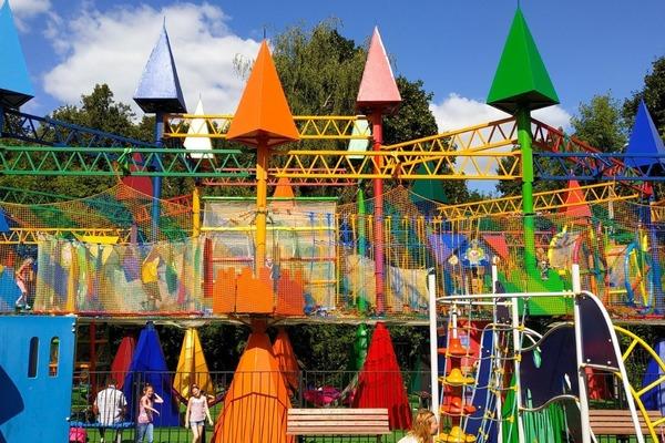 Веревочный парк FunГрад