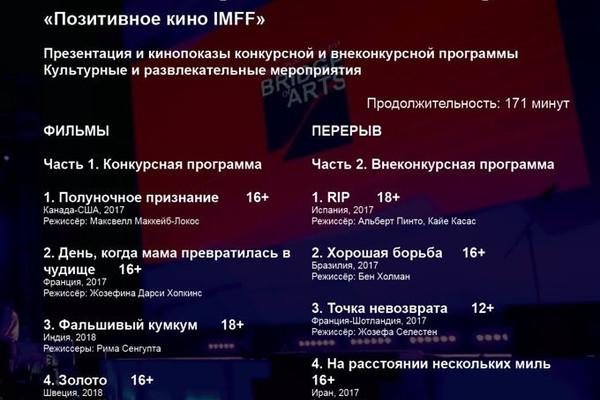 IMFF НОЧЬ КОРОТКОГО МЕТРА II