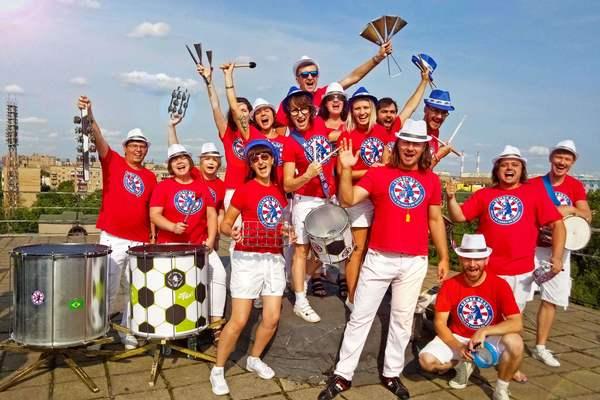 Открытая репетиция в коллективе барабанщиков Samba Real
