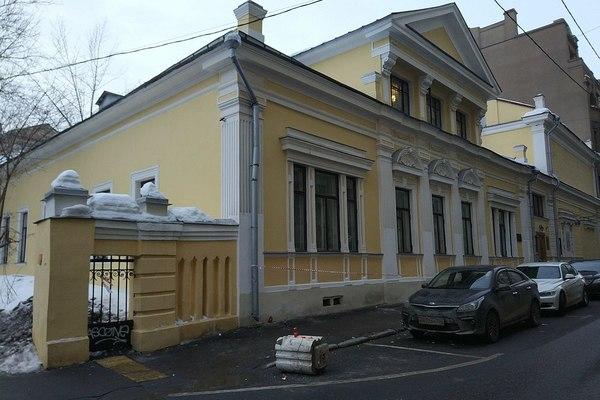 Дом И.С. Остроухова в Трубниках