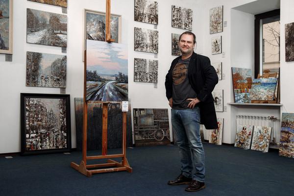 Рождественская выставка в Галерее Кустановича
