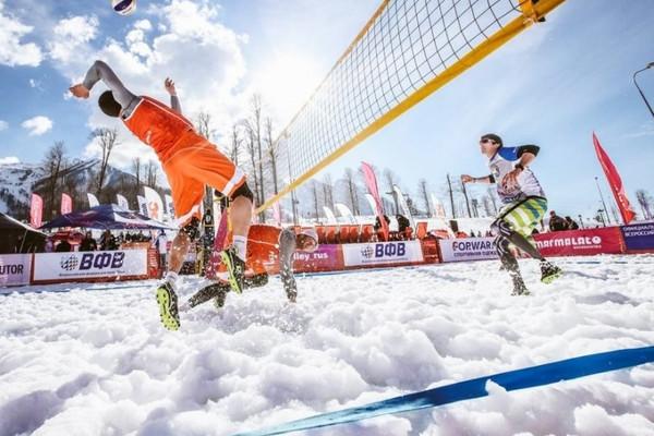 Чемпионат Европы по волейболу на снегу