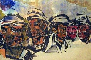 Выставка 1937. Выставка художника Василия Маслова