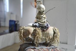 Выставка работ Даши Намдакова