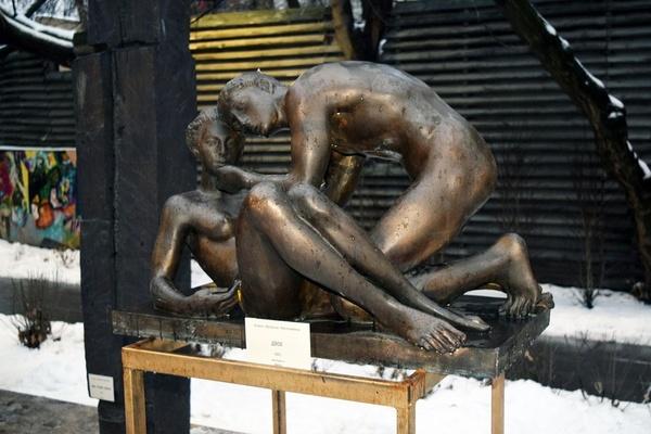 Скульптура в ЦДА
