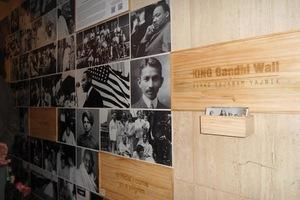 Выставка о Махатме Ганди