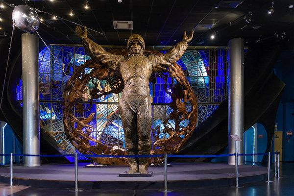 Постоянная экспозиция музея космонавтики