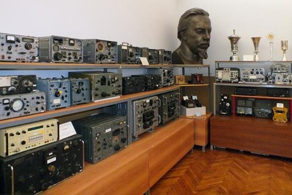 Постоянная экспозиция в Музее радио и радиолюбительства им. Э.Т. Кренкеля