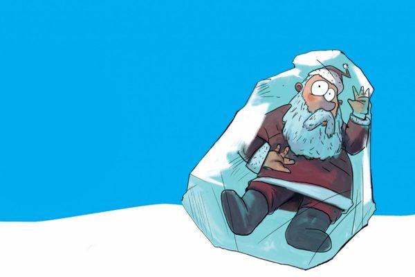 Зимний детектив