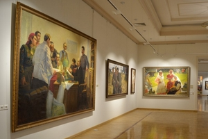Персональная галерея Хариса Якупова