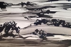Михаил Шемякин. Рисунки в стиле дзен