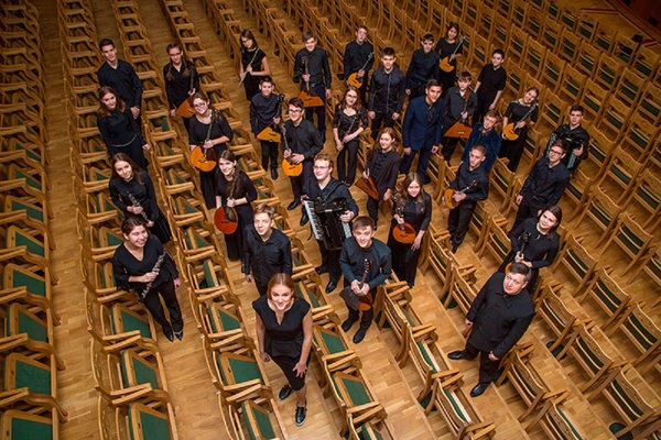 Оркестр русских народных инструментов Новосибирской специальной музыкальной школы