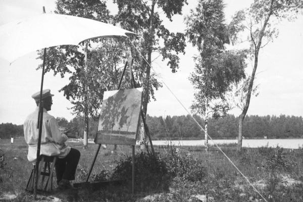 Душевный пейзаж: Николай Мещерин, Исаак Левитан и Игорь Грабарь