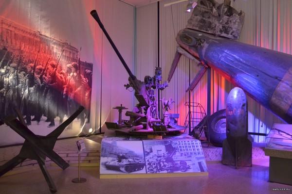 Постоянная экспозиция Музея Вооружённых сил Российской Федерации