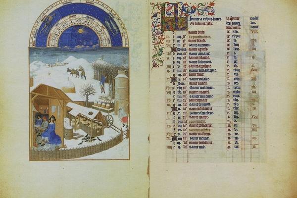 Западноевропейская книжная миниатюра
