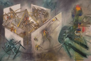 Роберто Матта и четвёртое измерение