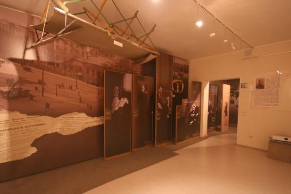 Постоянная экспозиция Музея петербургского авангарда