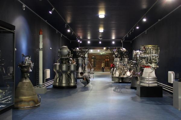 Постоянная экспозиция Музея космонавтики и ракетной техники имени Валентина Глушко