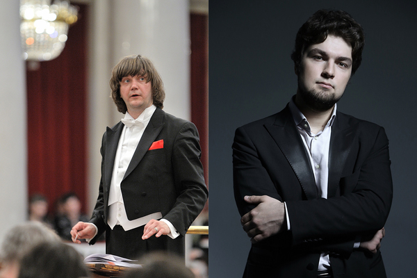Дирижер – Феликс Коробов, Солист – Лукас Генюшас