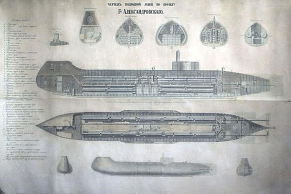 Чертежный фонд Военно-морского музея