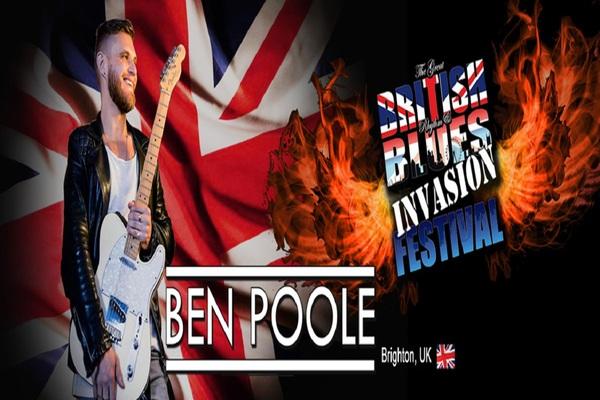 BRITISH BLUES INVASION TO RUSSIA, BEN POOLE (BRIGHTON, UK)