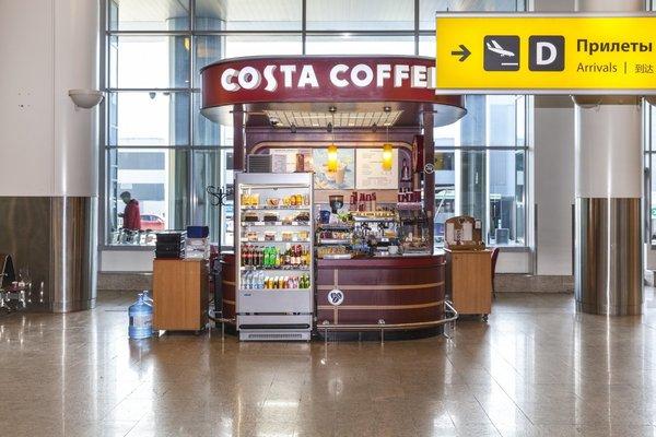 Costa Coffee в Шереметьево (общая зона)