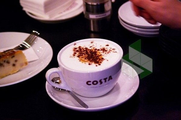 Costa Coffee в Шереметьево (зона вылета)