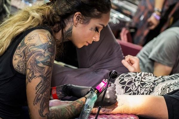 Московский фестиваль татуировки