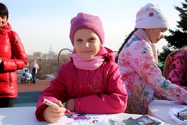 День космонавтики в парке Победы на Поклонной горе