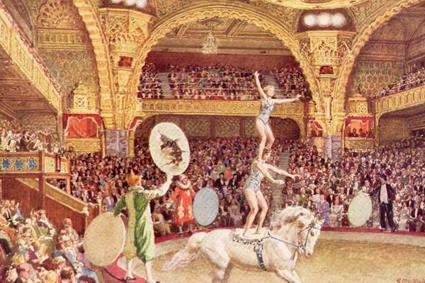 Искусство цирка в России