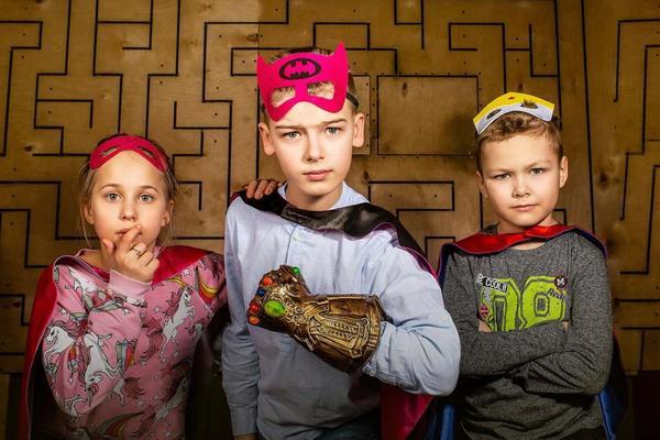 Ловушка для супергероев. Kids