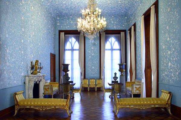 Парадные залы Главного корпуса Воронцовского дворца