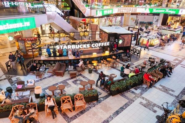 Starbucks на Приморском