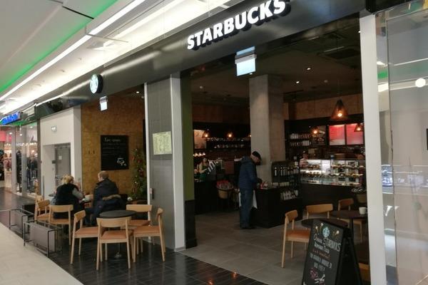 Starbucks на Петергофском