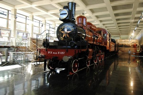 железнодорожного транспорта Московской железной дороги (площадка натурных образцов железнодорожной техники)