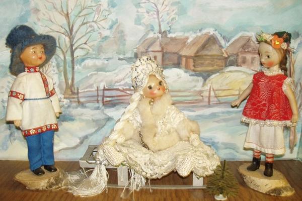 Музей этнографических костюмов на куклах