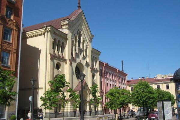 Пешком по Северной Европе, или лютеранский квартал в Петербурге