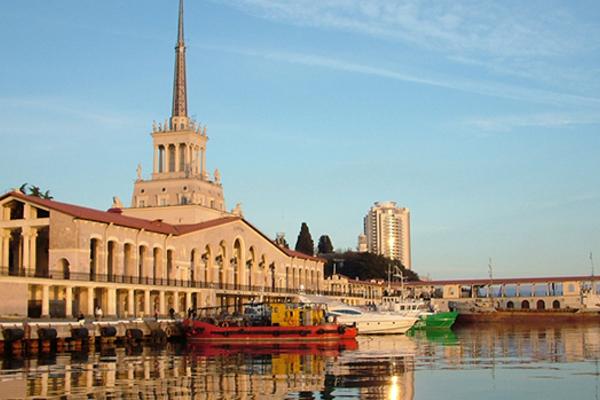 Зал Сочинского морского вокзала