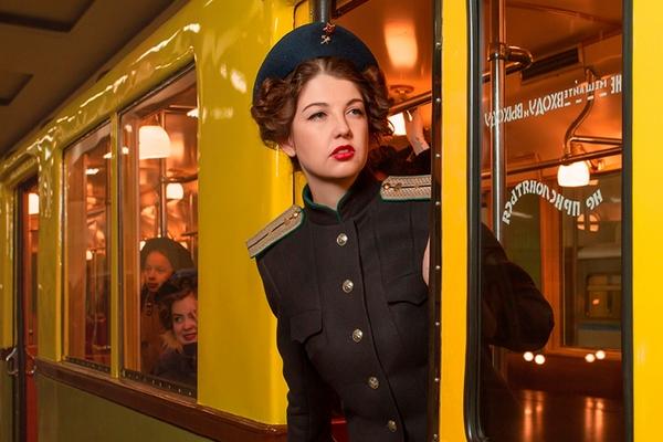 Образы прошлого в Московском метро