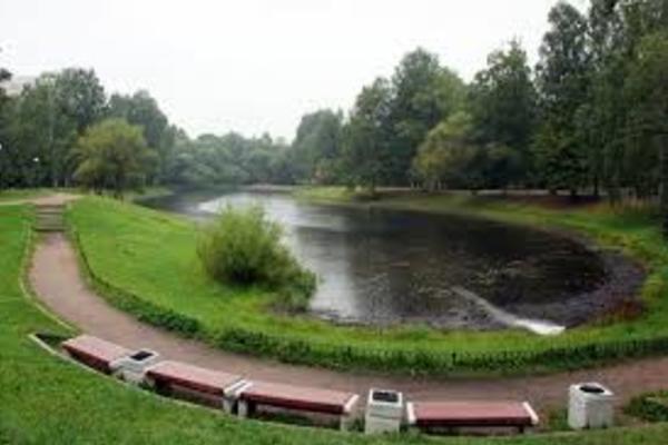 Сад Серебряный пруд