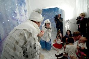 Театр на ладошке.Зима