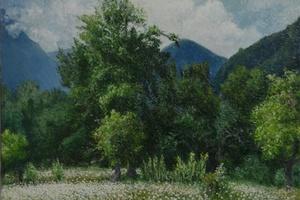 Живопись Б. Г. Сташевского