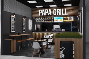 Papa Grill Сосиски & Кофе на Олимпийском проспекте