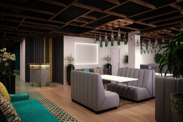 "Lounge cafe ""Место"""