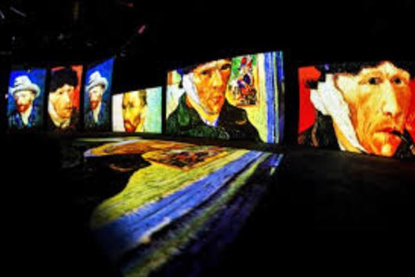 Ожившие шедевры: Времена года и Ван Гог