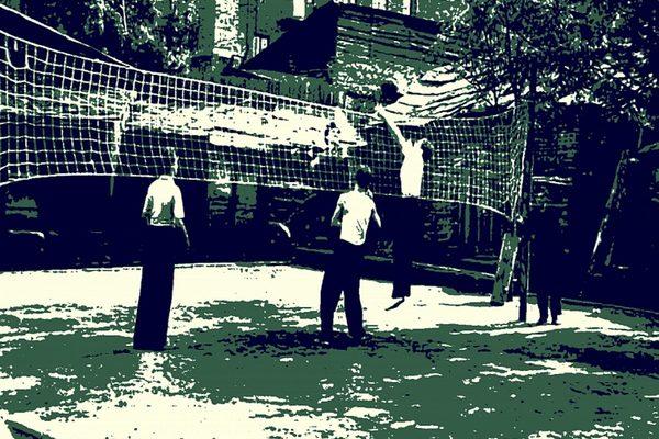 Волейбол на Сретенке
